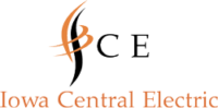 Iowa Central Electric Logo